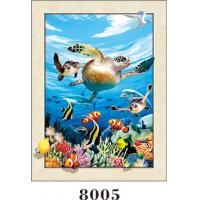 Buy cheap Stunning Sea World Animals Painting 5D Pictures / Lenticular Photo Printing from wholesalers