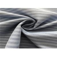 100% Polyester Non Fade Outdoor Fabric Dobby Herringbone Coating Wear - Resistant
