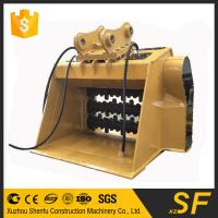 Buy cheap Construction spare parts of excavator crusher bucket fit for JCB240 product
