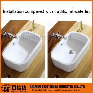 Buy cheap Palero móvil superficial de cerámica del lavabo del nuevo diseño para el cuarto de baño product