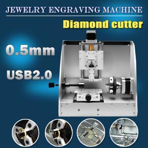 Machine de grande précision de graveur de l'efficacité M20 de petit prix pour des bijoux