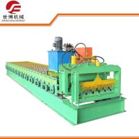 Buy cheap Corrugated Roof Sheet Metal Forming Equipment With Full Automatic Control from wholesalers