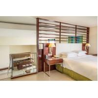 China Hotel style apartment interior furniture made by Laminate board for Wardrobe with minibar cabinets on sale