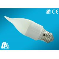 China ABS 2835 E27 LED Candle Bulbs 6000K - 6500K For Lobby Lighting on sale