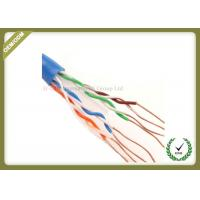 Buy cheap Cat6 Utp Network Fiber Cable Solid Copper Pass Fluke Test 4 Pair 305m from wholesalers