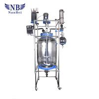 Buy cheap Double Glazing Pharmacy Glass Reactor AC Induction Motor High Temperature product