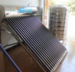 aquecedores de água solares