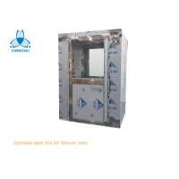 Buy cheap One Person Stainless Steel Air Shower For Food Factory product