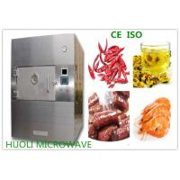 Buy cheap 8KW SS Microwave Vacuum Drying Equipment Box Type Food Sterilizer Machine product