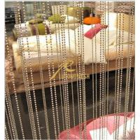China Stainless steel ball beaded curtain on sale