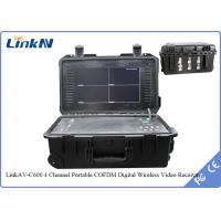 Buy cheap COFDM HDMI Portable wireless 4 channels Receiver N Female RF Interface from wholesalers
