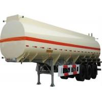 Buy cheap good quality 3 axle stainless steel 50cbm oil transportation tank semi trailer for sale product