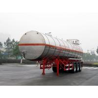 Buy cheap Stainless Steel Gas Tanker Truck Trailer For 39500L Propylene Oxide delivery product