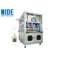 Buy cheap AC servo motor Automatic Simultaneous Stator Coil Winding Inserting Machine product