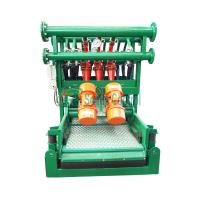 Buy cheap Bottom Shaker Desilter Hydrocyclone Machine for Oil and Gas Drilling,Drilling Mud Desilter product