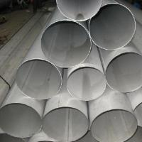 Buy cheap GB / T12770 - 2002 Annealed Welded Stainless Steel Pipe 25mm High Temperature Resistant product