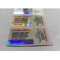 Buy cheap Customized Design 10ml Vial Labels product