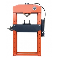 Buy cheap Powder Coating 75 Tonne Workshop Hydraulic Press With Pressure Gauge product