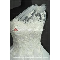 Buy cheap NEW!! Short wedding dress One shoulder evening Bridal gown #BG175 product