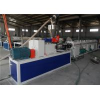 Buy cheap Plastic Pipe Extrusion Line , Double Screw PVC Pipe Line , PVC Water Pipe Production Line product