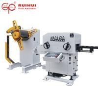 Quality Coil Steel Decoiling Machine Straightener Feeder And Blanking Line for sale