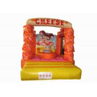 Buy cheap Lovely Kids Inflatable Bounce House / Mini Size Inflatable Cheese bouncer from wholesalers