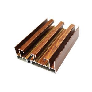 Buy cheap 寝室の装飾のためにカスタマイズされるアルミニウム引き戸フレームの形 from wholesalers