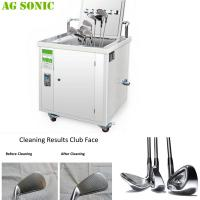 Buy cheap Mobile And Transportable Ultrasonic Golf Club Cleaner Golf Club Sonic Cleaning Machine product
