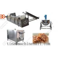 Buy cheap Automatic Peanut Brittle Bar Production Line product