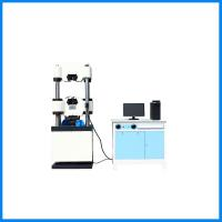 China Vertical Electronic Hydraulic Tensile Compressive Strength Testing Machine wholesale