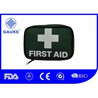 Travel Size British Standard First Aid Kits Survival Bag For 1 Person