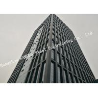 Buy cheap EPC Project Constructions Multi-storey Steel Building With Outlook Glass Curtain Wall Framed product