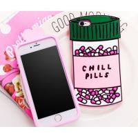 China Chill pills love options silicone Case For iPhone 4 5s 6 plus 7 SAMSUNG s5 s4 S6 S7 NOTE 7 3 5 wholesale