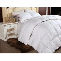 Buy cheap Customized Luxury Double Stitched Down Feather Quilt for Adults with White Goose Feather product