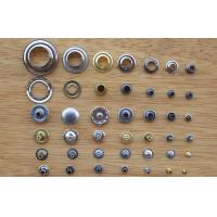 Buy cheap Plating Brass Custom Snap Buttons Garment Eyelet Hardware Accessories product