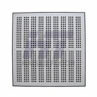Buy cheap Computer Room Perforated Raised Floor , Steel Air Flow Panel 600 x 600 product