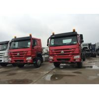 Buy cheap Mining Industry Sinotruk Howo Dump Truck 336HP 6X4 RHD 30 Ton White / Red / Green product