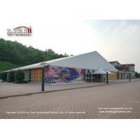 Buy cheap 20m Aluminum Frame Outdoor Event Tent Water Proof PVC roof Cober And Sidewall product