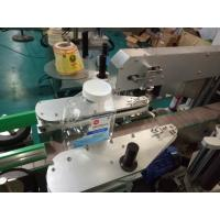 China SUS304 Cabinet Two Sides Square Bottle Sticker Labeling Machine With Personal Care Products wholesale