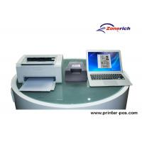 Quality Duplex scanning Name / ID Card Record Double Sided Card Scanner for Office for sale