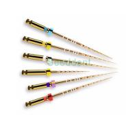 Buy cheap Dental Heat Activation NITI Protaper golden files / dental supplier / dental endo K files dental tools product