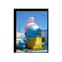 Buy cheap Air Sealed Giant Advertising Balloons Inflatable Smurfs Replica Balloon product
