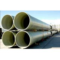 Buy cheap Fiberglass reinforced plastic FRP Profiles , Industrial FRP tube / pipe product