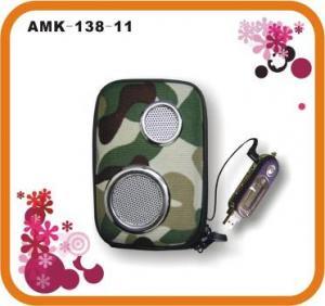 Buy cheap EVA / 600D + PU Powerful Portable Speakers Bag AMK-138-11  product