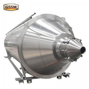 Buy cheap Wort Fermentation Tanks Large Horizontal Fermentation Tanks For Craft Beer Making from wholesalers