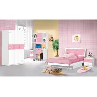 Buy cheap Popular Pink Children Bedroom Furniture Sets 1.2 Meters Width Bed Simple Design product