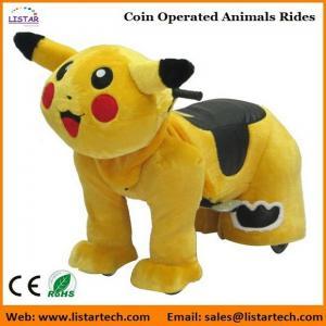 Buy cheap Tour électrique d'animaux à jetons de batterie de Pokemon sur les animaux motorisés pour le mail product