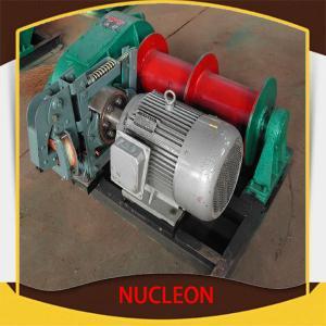 Equipamento dobro bonde do guincho do cilindro da aplicação larga com o Adjustmen de ajuste rápido e seguro