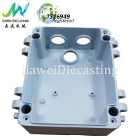 Buy cheap Professional Custom Aluminium Pressure Die Casting Box Shot Blasting / CNC Machining Surface product