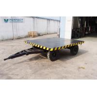 Buy cheap 1-200 Ton Steel Frame Material Transfer Cart Trailer For Tractor Truck Handling Goods product
